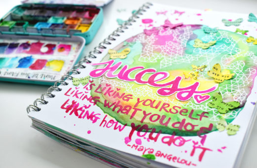 Art Journal Revlie Success