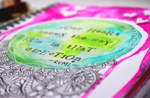 Art Journal Your Heart - Revlie