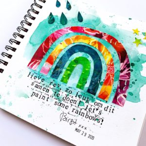 R&B Painting Rainbows