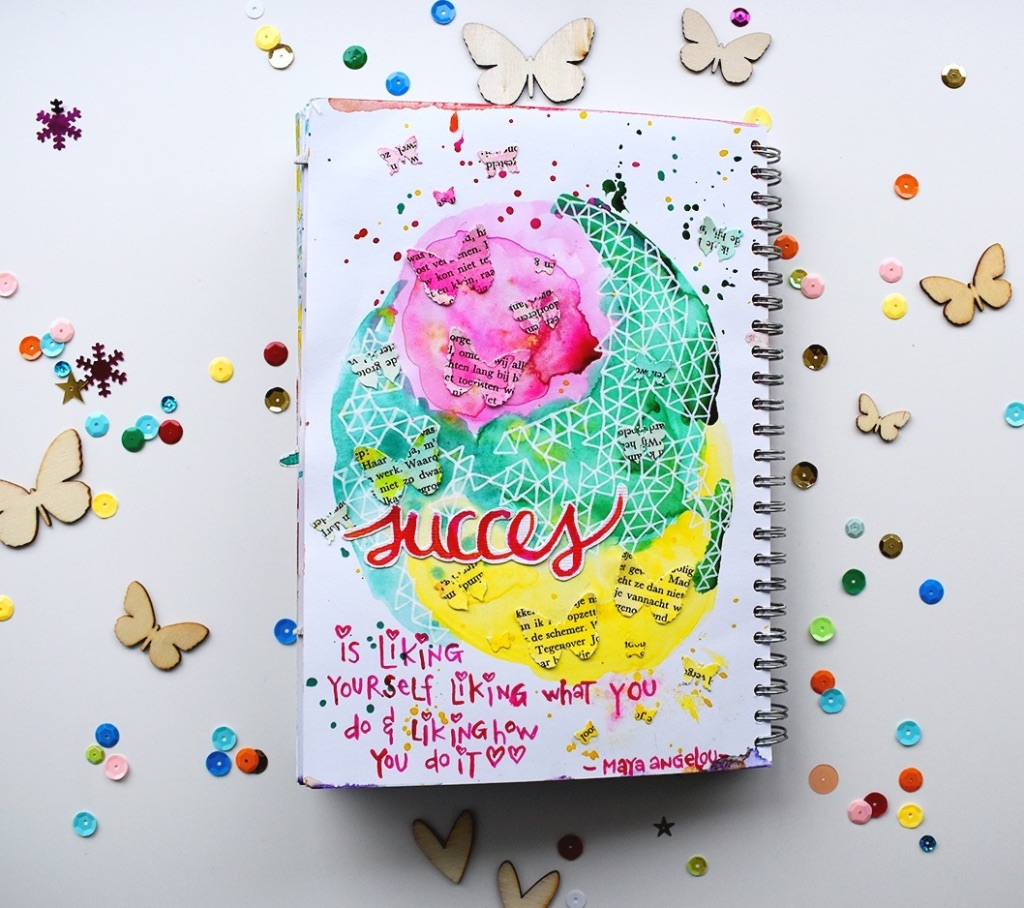 Art Journal Success - Revlie