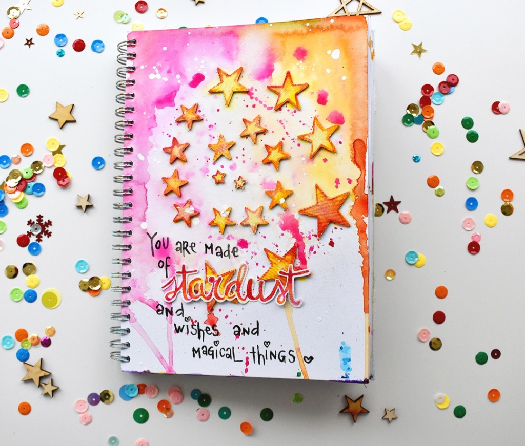 Art Journal Stardust - Revlie