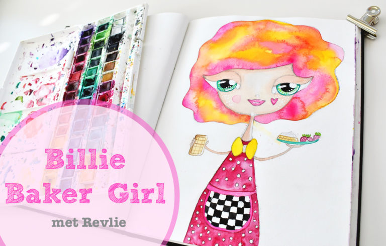 Droom Meisjes Tekenen - Billie Baker Girl