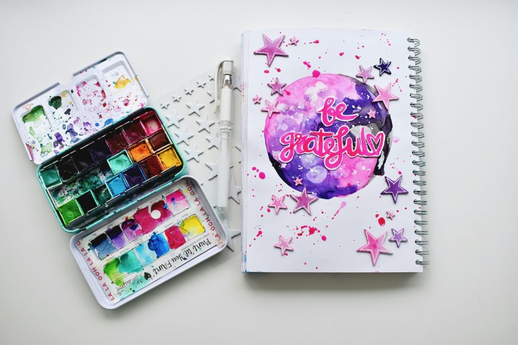 Art Journal Galaxy Pagina Revlie