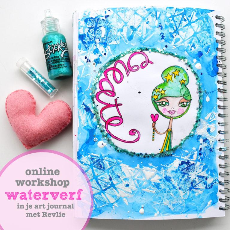 Waterverf in je artjournal leren