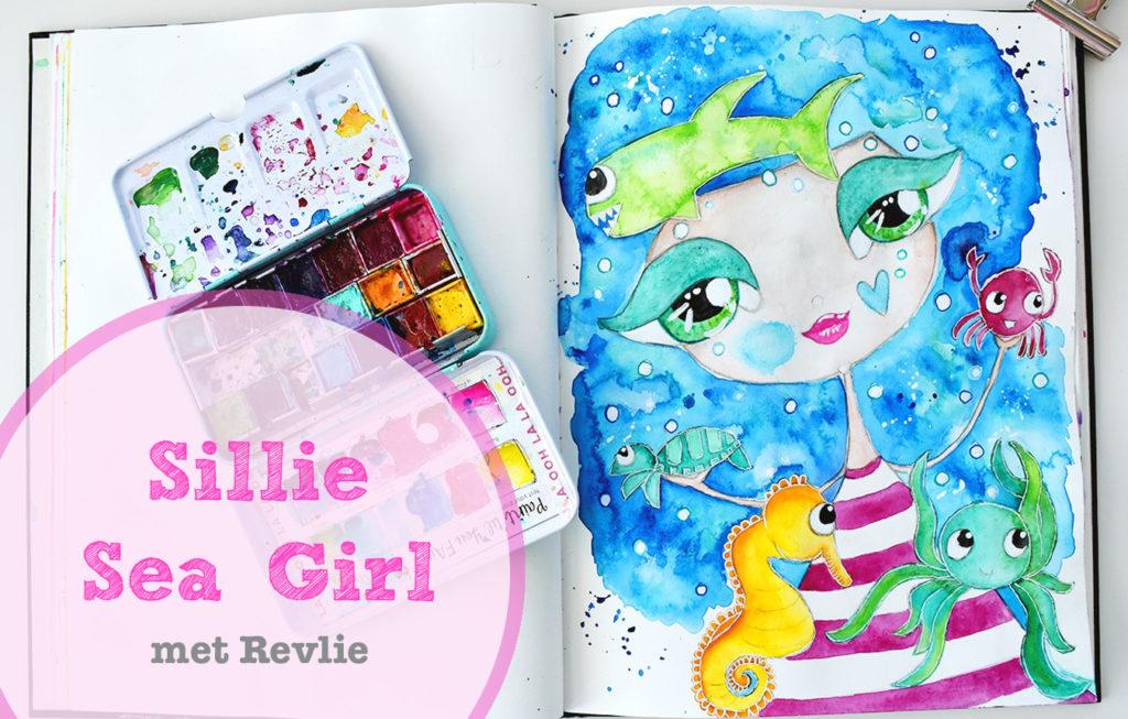Droom Meisjes Tekenen - Sillie Sea Girl