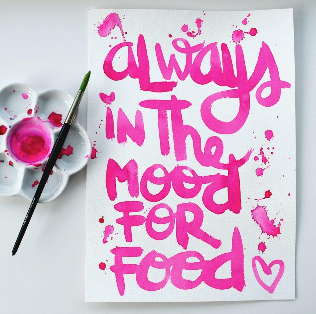 Tekstposter_Roze_Mood_Food_Revlie
