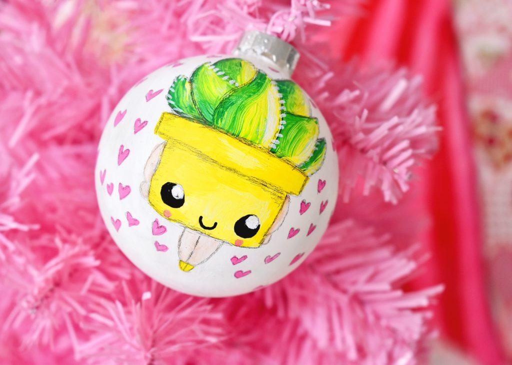 DIY Kerstbal Aloe Vera Revlie