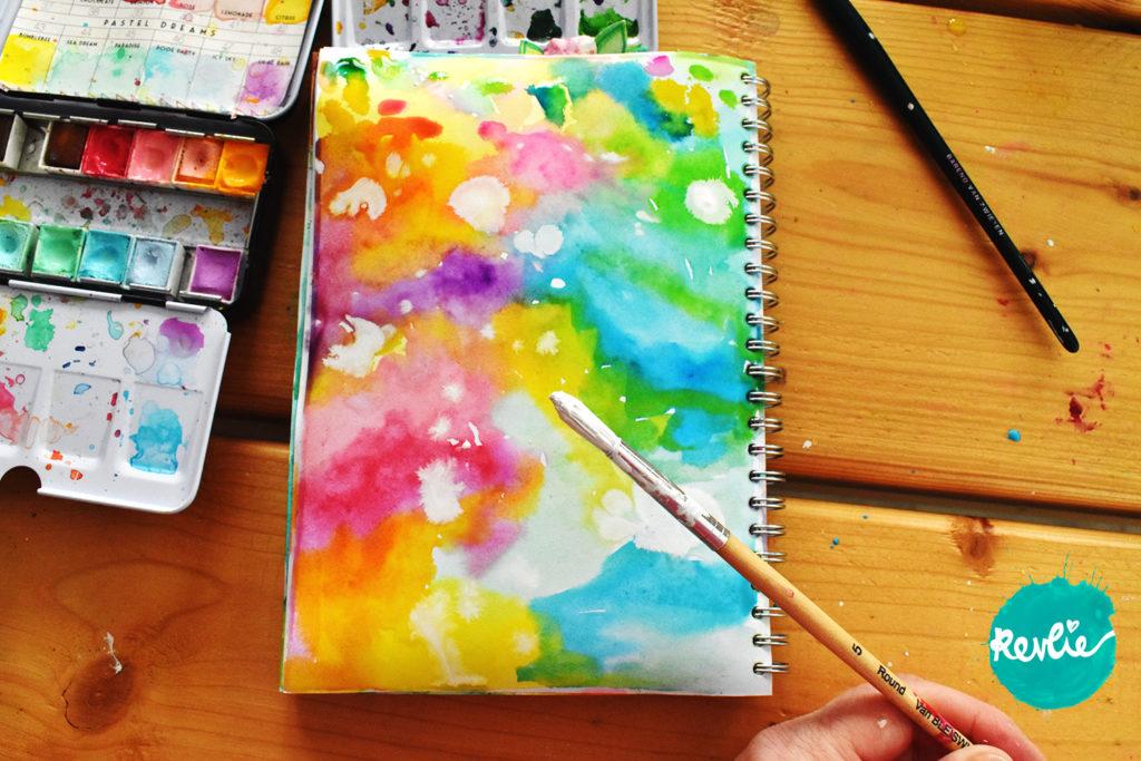 Art Journal Tutorial Stars