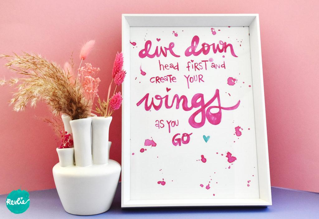 Quote Dive Down Revlie