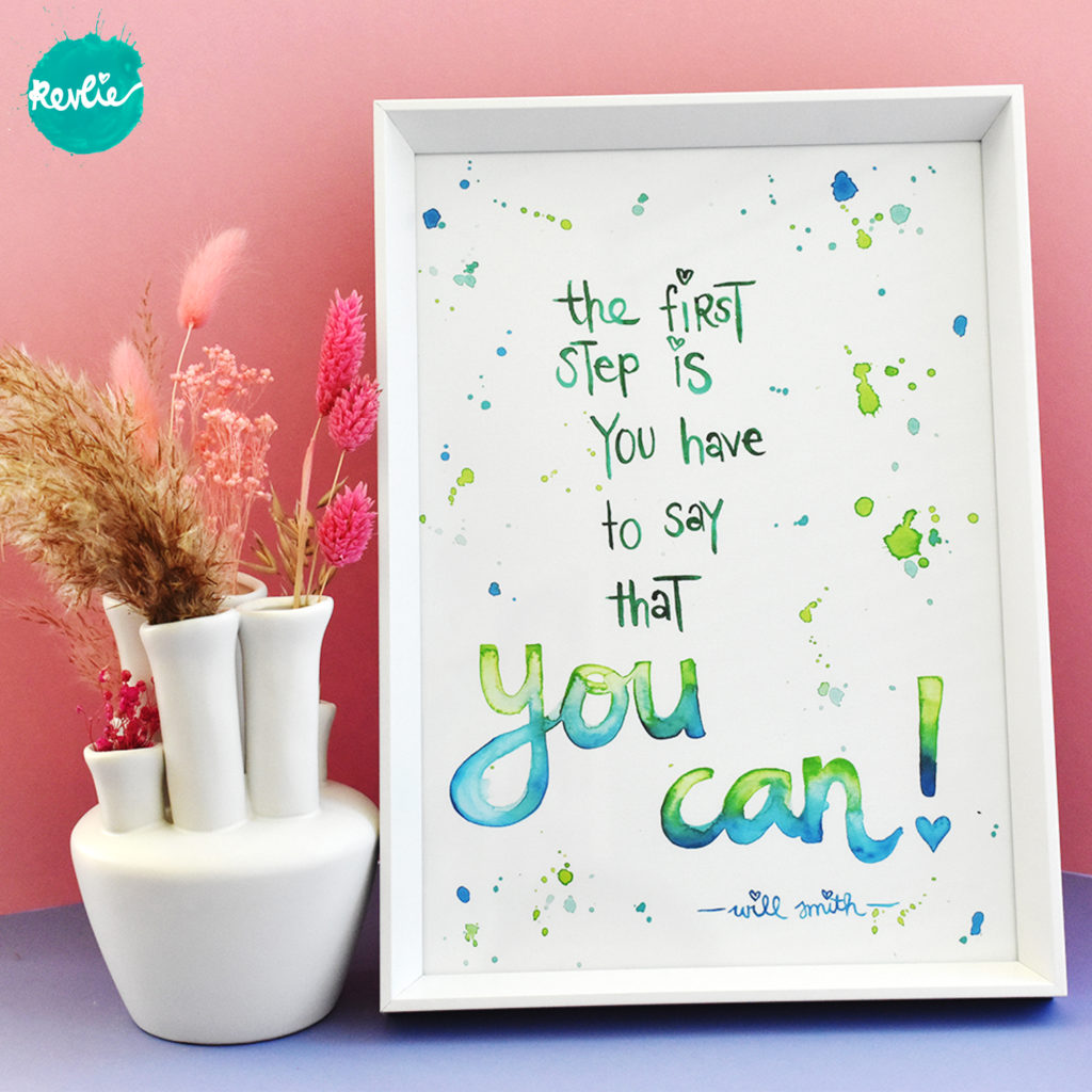 Quote Poster You Can