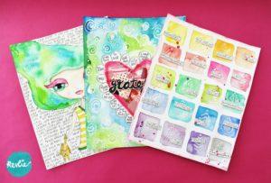 Art Journaling Dichterbij Jezelf online cursus